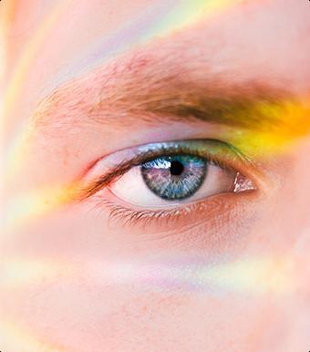 Zbliżenie oka